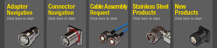 Adapter Connect Cable assembly stainless products